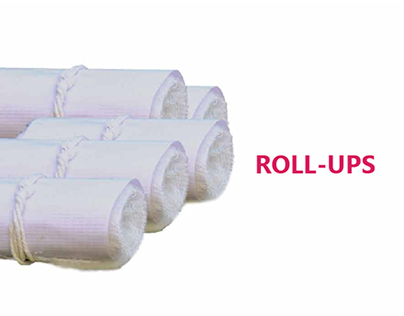 Roll Ups-Eco Friendly Sanitary Protection
