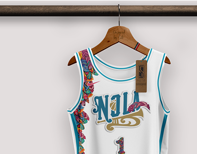 NEW ORLEANS PELICANS / NBA - concept by SOTO UD