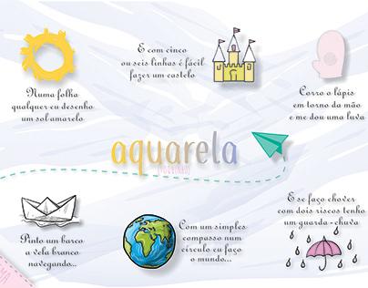 Projeto integrador (3o ano) Tema Aquarela - Toquinho