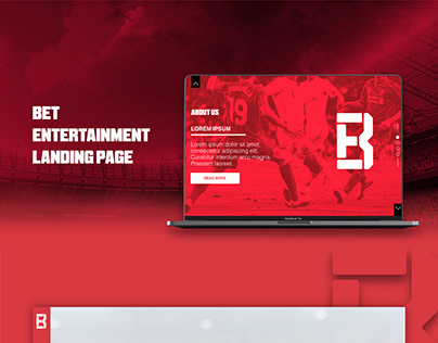 BET ENT. - Landing Page