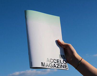 ACCELO Magazine - Editorial Design