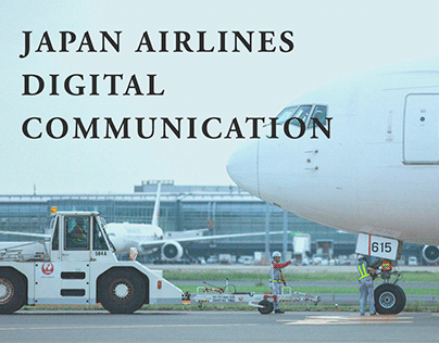 Japan Airlines Digital Communication