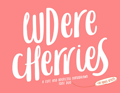 Ludere Cherries - FREE PERSONAL USE FONTS