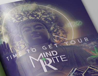 Mindrite PDX | 2017 Print Ad Campaign