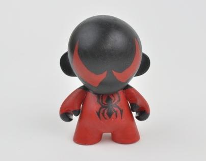 Scarlet Spider Munny