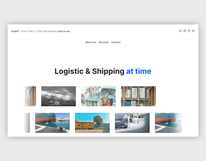 trucks© | Website, UI/UX