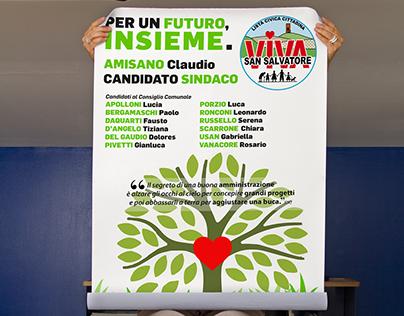 Visual Design electoral campaign
