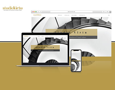 Web Design & Development - StudioVirtu.org   Website