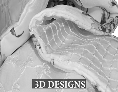 3D garments / couture designs/ dress construction