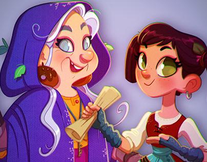 """Hansel & Gretel"" Storybook"