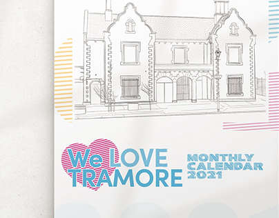 We Love Tramore - Monthly Calendar 2021