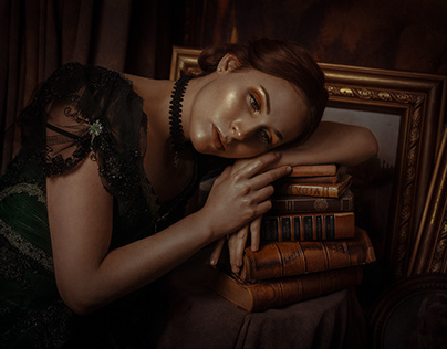 The Lady and the book