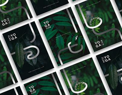 Yoga Flow - Print and OOH Advertisement Design