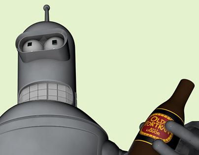 Futurama Bender 3D Personal Project