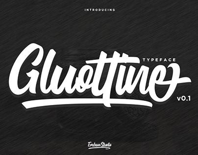 GLUOTTINE - MODERN CALLIGRAPHY TYPEFACE