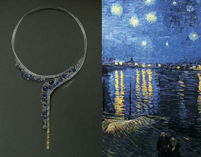 Vincent van gogh-The Starry Night