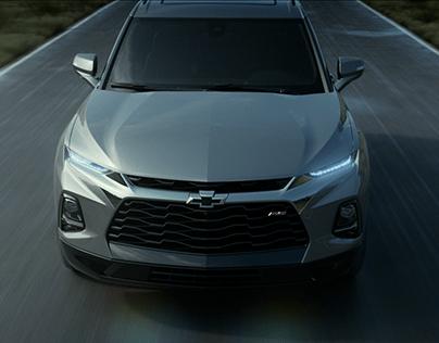 Chevrolet Blazer RS 2019 CGI Animation