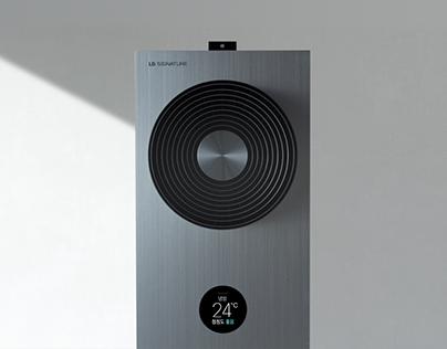 LG SIGNATURE AIRCON UI Design