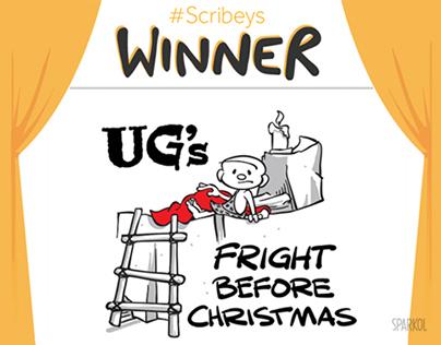 Whiteboard Animation - UG's Fright Before Christmas