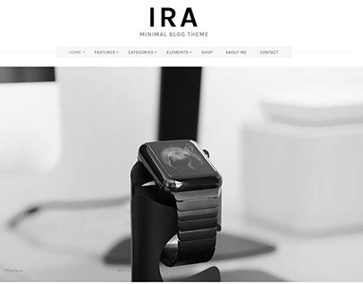 Ira – News WordPress Theme