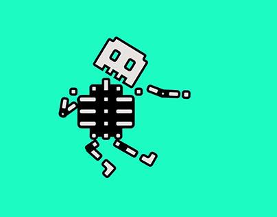 Animation - Skeleton Dance