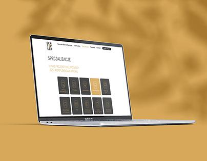 Web design for the Dentoplex