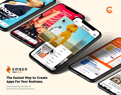 Ember AppBuilder Landing Page