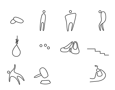 Icons for a novel