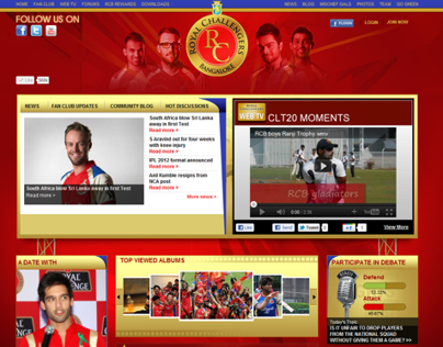 Royal Challengers Banglore - RCB Web TV