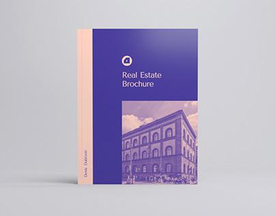 Luxury Real Estate Brochure Template