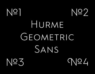 Hurme Geometric Sans No.1–4