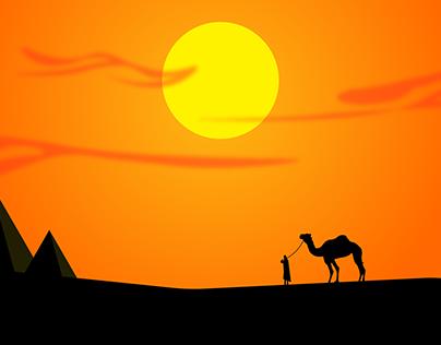 Desert | Illustration | Landscape