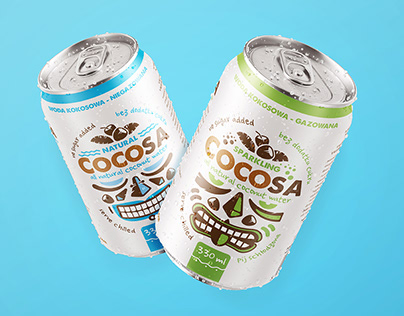 Cocosa coconut water cans
