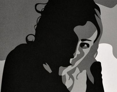 Four Tones - Lasercut Illustration