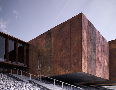 Soulage Museum Renderings