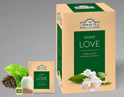 Design concept for tea pack