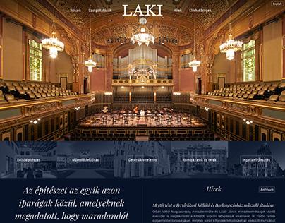 Laki.hu webdesign
