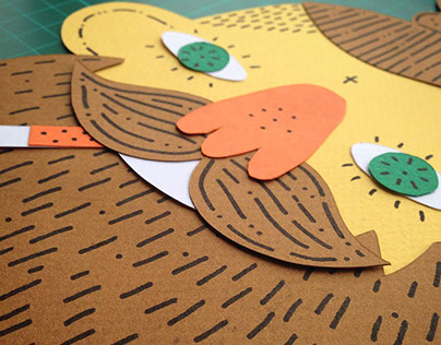 Hipster Papercuts