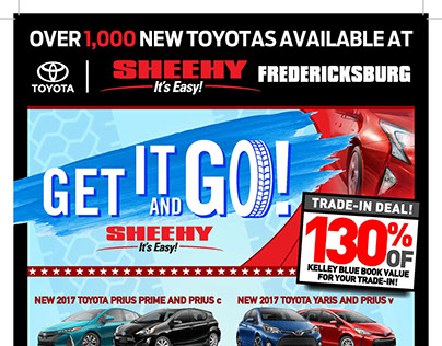 Sheehy's Get It and Go! Sales Event