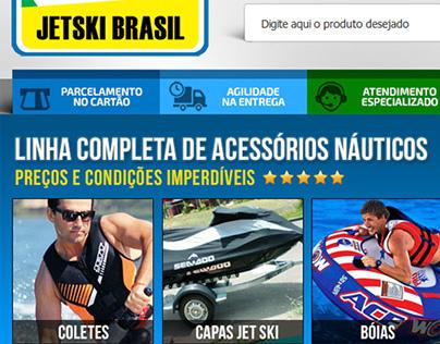 Layout E-commerce Jetski Brasil