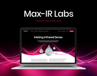 Max-IR Website Design