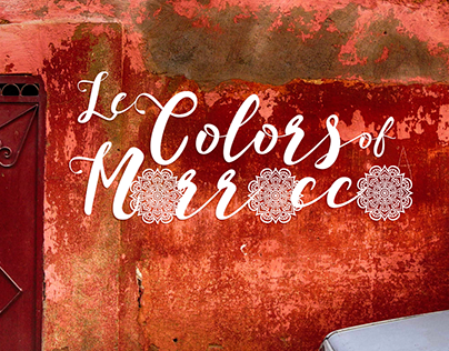 Le Colors of Morrocco