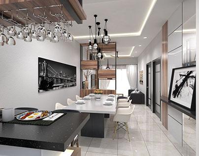 4 Bedrooms Terrace Showunit @ Jasin