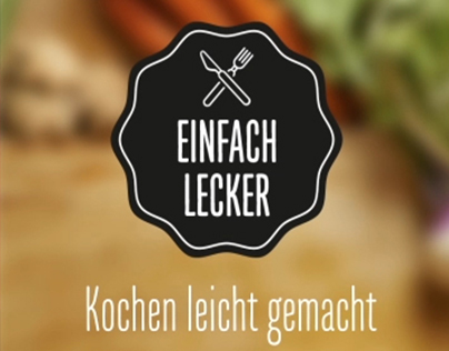 Einfach Lecker App - Transitions and Microinteractions