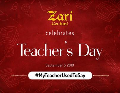 Zari Teachers Day - Case Study