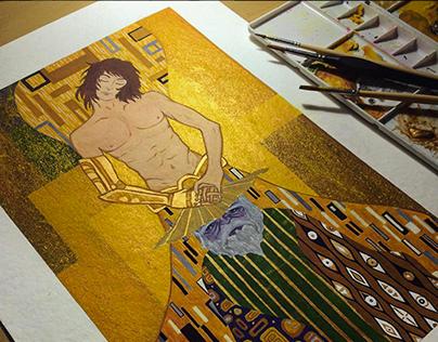 Golden Youth - Ilustração do Cavaleiro de Libra Dohko