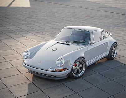 Porsche 911 by Singer   CGI