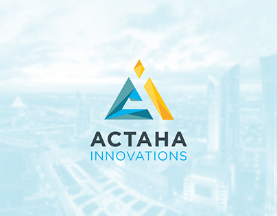 Astana Innovation logo rebranding