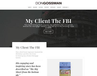 Don Gossman Website Design & Dev.