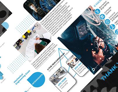 Polytech Lyon Engineering School - Presentation Design